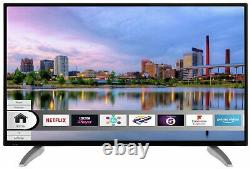 Bush DLED40UHDHDRS 40 Inch Freeview HD 4K Ultra HD HDR LED WiFi Smart TV