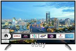 Bush DLED43UHDHDRS 43 Inch 4K Ultra HD HDR Freeview Play Smart LED TV Black