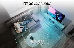 Bush DLED43UHDHDRS 43 Inch 4K Ultra HD HDR Smart WiFi LED TV Black NO STAND U