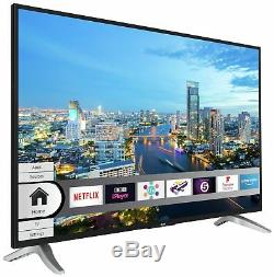 Bush DLED49UHDHDRS 49 Inch 4K Ultra HD HDR Smart WiFi LED TV Black