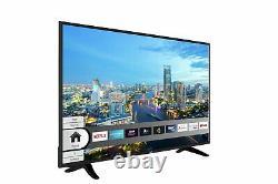 Bush DLED50UHDHDRS 50 Inch 4K Ultra HD HDR Smart WiFi LED TV Black