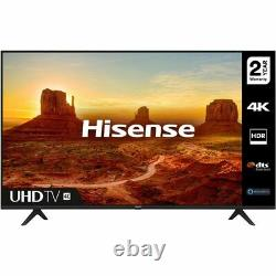 Hisense 43A7100FTUK 43 Inch TV Smart 4K Ultra HD LED Freeview HD 3 HDMI