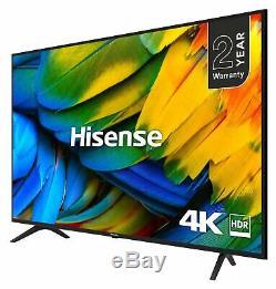 Hisense 50 Inch H50B7100UK Smart 4K Ultra HD HDR WiFi Freeview Smart LED TV