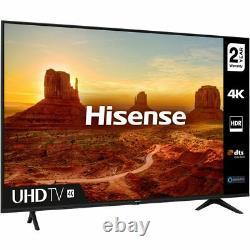 Hisense 55A7100FTUK 55 Inch TV Smart 4K Ultra HD LED Freeview HD Bluetooth WiFi
