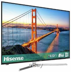 Hisense 55U7AUK 55 Inch 4K Ultra HD HDR Freeview Smart WiFi LED TV Black