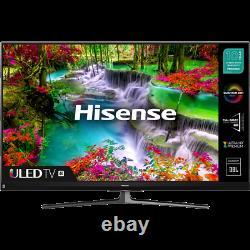 Hisense 55U8QFTUK 55 Inch TV Smart 4K Ultra HD QLED Freeview HD 4 HDMI Dolby