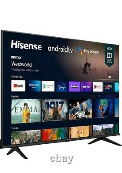 Hisense 65A6G 65-Inch 4K Ultra HD Android Smart TV with Alexa Compatibility