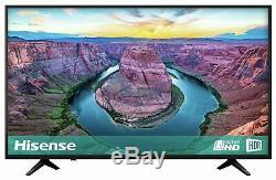 Hisense H43AE6100UK 43 Inch 4K Ultra HD HDR Smart WiFi LCD TV Black