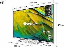 Hisense H55B7300UK 55 Inch & H65B7300UK 65 Inch 4K Ultra HD Amazing Smart TV