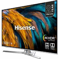 Hisense H65U7BUK U7B 65 Inch TV Smart 4K Ultra HD LED Freeview HD 4 HDMI Dolby