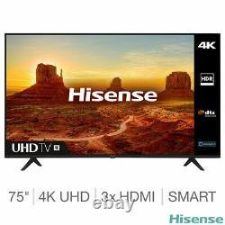 Hisense H75A7100FTUK 75 Inch 4K Ultra HD Smart TV 5 YEAR WARRANTY