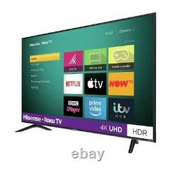 Hisense R55B7120UK 55 Inch SMART 4K Ultra HD HDR LED Roku TV Freeview Play