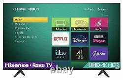 Hisense Roku R65A7200UK 65 Inch 4K Ultra HD HDR Smart LED Freeview TV