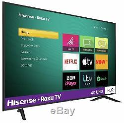 Hisense Roku TV 65 Inch R65B7120UK 4K Ultra HD HDR Freeview Smart LED TV