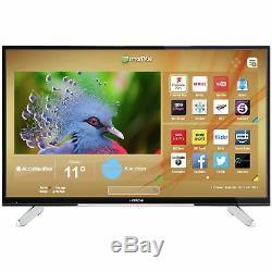 Hitachi 43 Inch 4K Ultra HD Freeview HD Smart WiFi LED TV Black