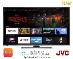 JVC LT-40CF890 Fire TV Edition 40 Inch Smart 4K Ultra HD HDR LED TV with Alexa