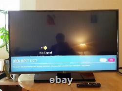 LG 43LF630V 43 Inch AI Smart TV IPS display, 4k active HDR, ultra surround