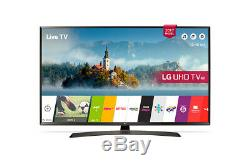 LG 43UJ634V 43 Inch LED TV 4K Ultra HD Smart TV Wi-Fi With Freeview Black