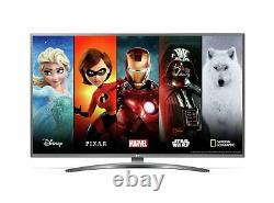 LG 43UN8100 43 Inch 4K Ultra HD HDR Smart WiFi LED TV Silver