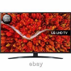 LG 43UP81006LR 43 Inch TV Smart 4K Ultra HD LED Analog & Digital Bluetooth WiFi