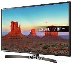 LG 49UK6400PLF 49 Inch 4K Ultra HD HDR Freeview HD Smart WiFi LED TV Black