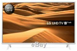 LG 49UM7390 49 Inch 4K Ultra HD Smart WiFi LED TV White