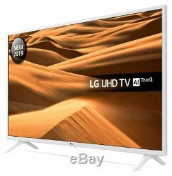 LG 49UM7390 49 Inch 4K Ultra HD Smart WiFi LED TV White