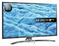 LG 49UM7400PLB 49 Inch 4K Ultra HD HDR Smart WiFi LED TV Black