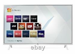 LG 49UN7390 49 Inch 4K Ultra HD Smart WiFi LED TV White