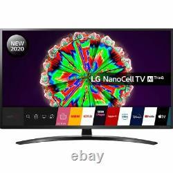 LG 50NANO796NE 50 Inch TV Smart 4K Ultra HD NanoCell Analog & Digital Bluetooth