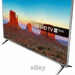 LG 50UK6500PLA UHD 50 Inch 4K Ultra HD A Smart LED TV 4 HDMI
