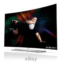 LG 55EG960V 55 Inch Curved 3D SMART 4K Ultra HD OLED TV Freeview HD C Grade