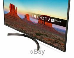 LG 55UK6400PLF 55 Inch Smart 4K Ultra HD LED HDR TV Freeview Play Freestat HD