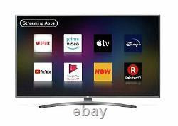 LG 55UN8100 55 Inch 4K Ultra HD HDR Smart WiFi LED TV Silver