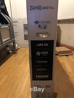 LG 60UH770V 60 Inch SMART 4K Ultra HD HDR LED TV Freeview HD Freesat HD