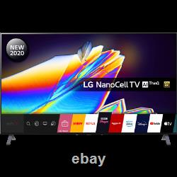 LG 65NANO956NA 65 Inch TV Smart 8K Ultra HD NanoCell Analog & Digital Bluetooth