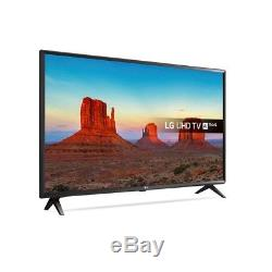 LG 65UK6300PLB 65 Inch 4K Ultra HD HDR Smart LED TV in Black with 4xHDMI