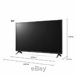 LG 65UN7300 65 Inch 4K Ultra HD HDR Smart WiFi LED TV Black