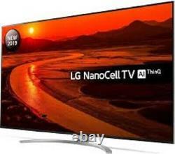 LG 75 Inch NanoCell 8K Ultra HD Smart TV 75SM9900PLA Google Assistant & Alexa
