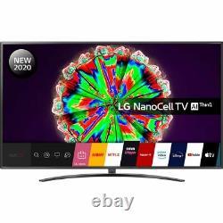 LG 75NANO796NF 75 Inch TV Smart 4K Ultra HD NanoCell Analog & Digital Bluetooth