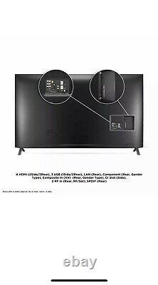 LG 82UN85006LA 82 Inch 4K Ultra HD Smart TV