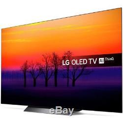 LG OLED55B8SLC 55 Inch 4K Ultra HD Freeview HDR Smart WiFi OLED TV Black
