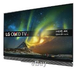 LG OLED65E6V 65 Inch 3D SMART 4K Ultra HD HDR OLED TV C Grade No Remote