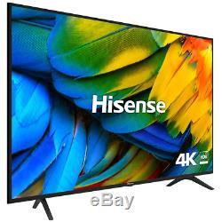 Large 55 inch Smart TV 4K Ultra HD Slim Freeview Slim Television Wifi Netflix