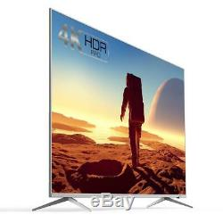 Large 65 Inch Smart TV 4K Ultra HD Freeview Slim Television Internet HDMI Wifi