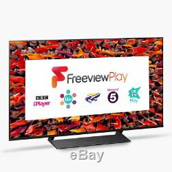 Panasonic TX-50GX800B 50 Inch Smart 4K Ultra HD HDR LED TV Freeview Play C Grade