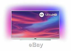 Philips 43PUS7334 43 Inch 4K Ultra HD HDR Smart WiFi LED Ambilight TV Silver