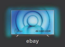Philips 43PUS8105 43 Inch 4K Ultra HD Smart WiFi LED Ambilight TV Silver
