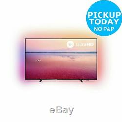 Philips 50 Inch 50PUS6704 4K Ultra HD HDR Freeview Play WiFi Smart LED TV