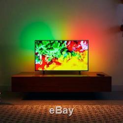 Philips 55 Inch 4K Smart TV Ambilight Ultra HD Slim Television Wifi Internet